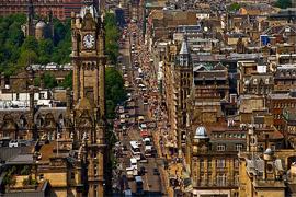 Moving to Edinburgh